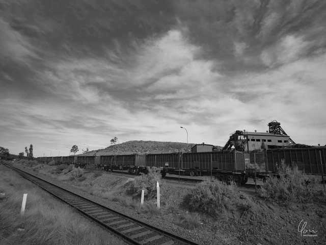 ブロークンヒル 貨物列車 鉱山 Brockenhill train mine