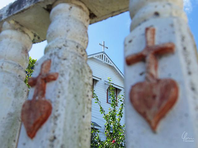 トンガ ババウ島 教会
