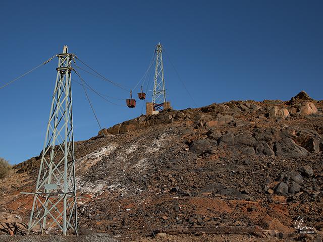 空中運搬機 索道 Highline Brokenhill