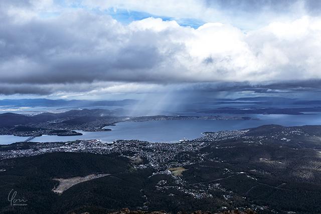 ホバート ウェリントン山頂 Mt.Wellington panoramic view