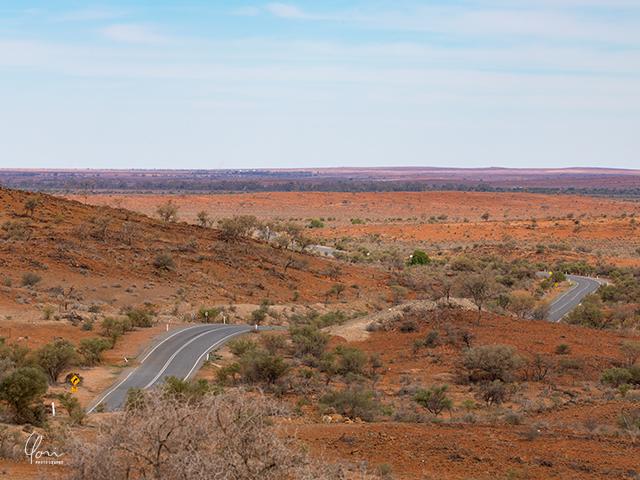 アウトバック 道路 Outback road