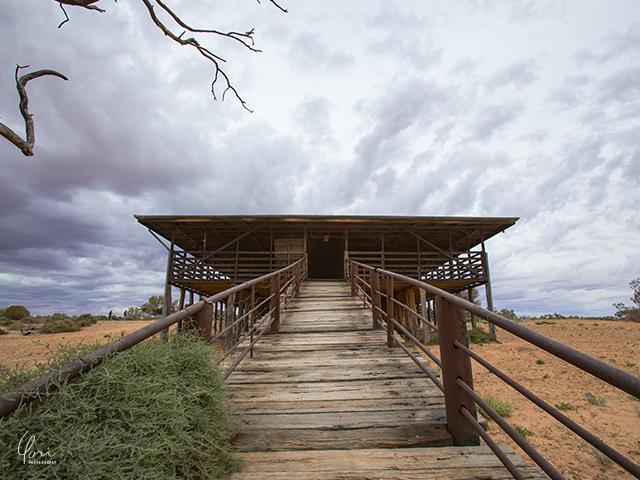 羊小屋 キンチェガナショナルパーク Sheep shed Kinchega national park