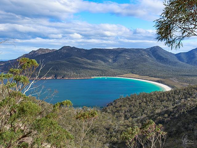 タスマニア ワイングラスベイ Tasmania Wineglassbay
