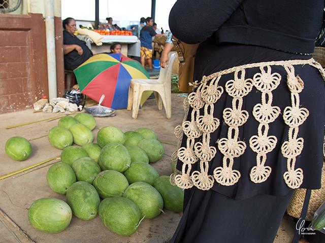 トンガ 民族衣装 キエキエ