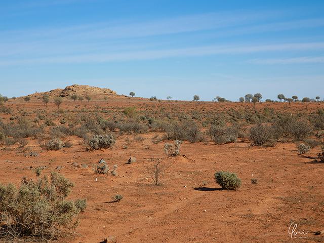アウトバック オーストラリア Australia outback red soil