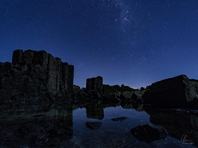 ボンボ リフレクション 水面反射 キアマ近郊 Bombo reflection Kiama