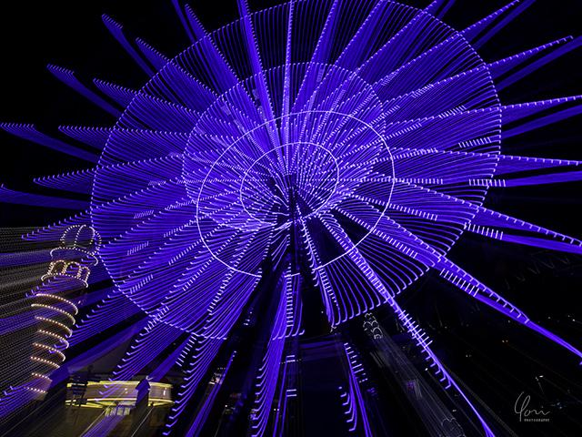 ビビッドシドニー ルナパーク VIVID SYDNEY Ferris wheel Luna Park