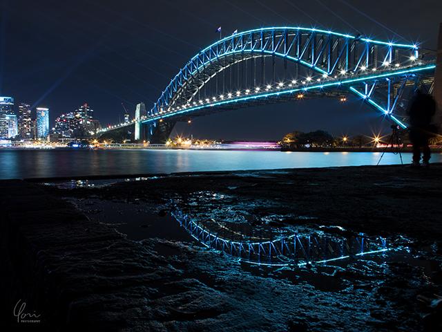 ハーバーブリッジ リフレクション Harbourbridge reflection