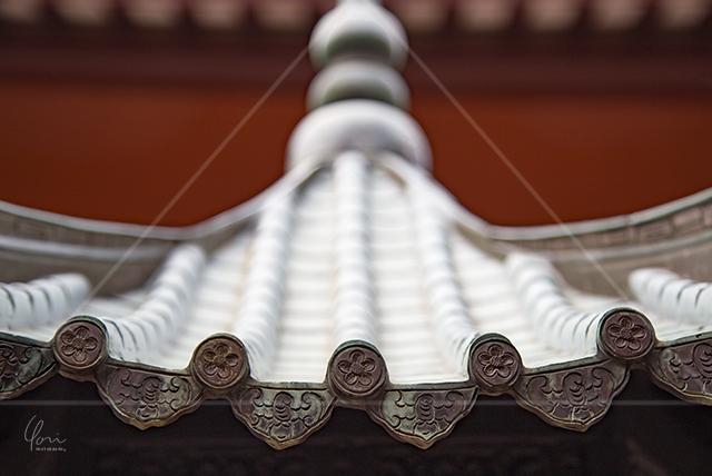 三角構図 寺