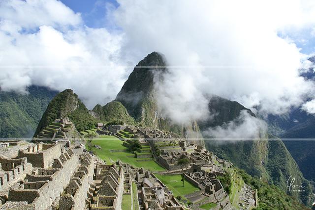 三分割構図 マチュピチュ Machu Picchu, Peru