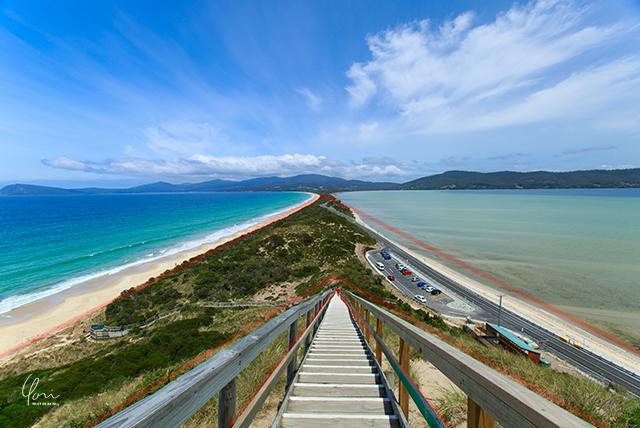 三角構図 タスマニア Tasmania