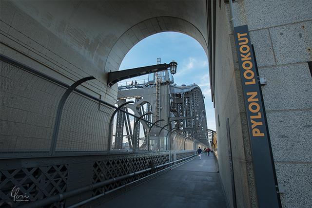 ハーバーブリッジ パイロン展望台