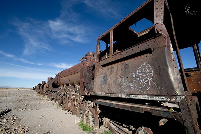 ウユニ 列車の墓場 Bolivia train graveyard