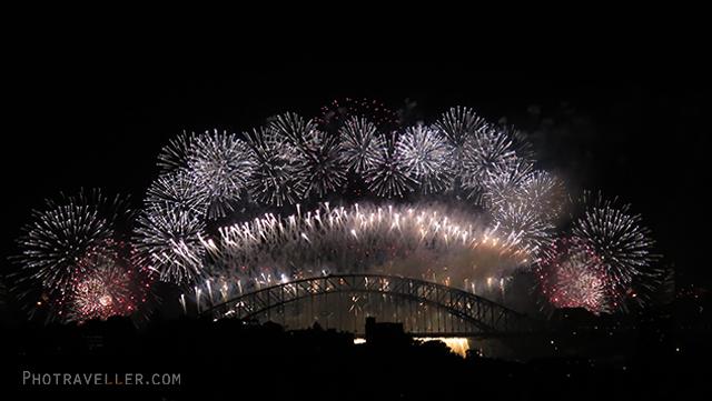 HarbourBridge fireworks