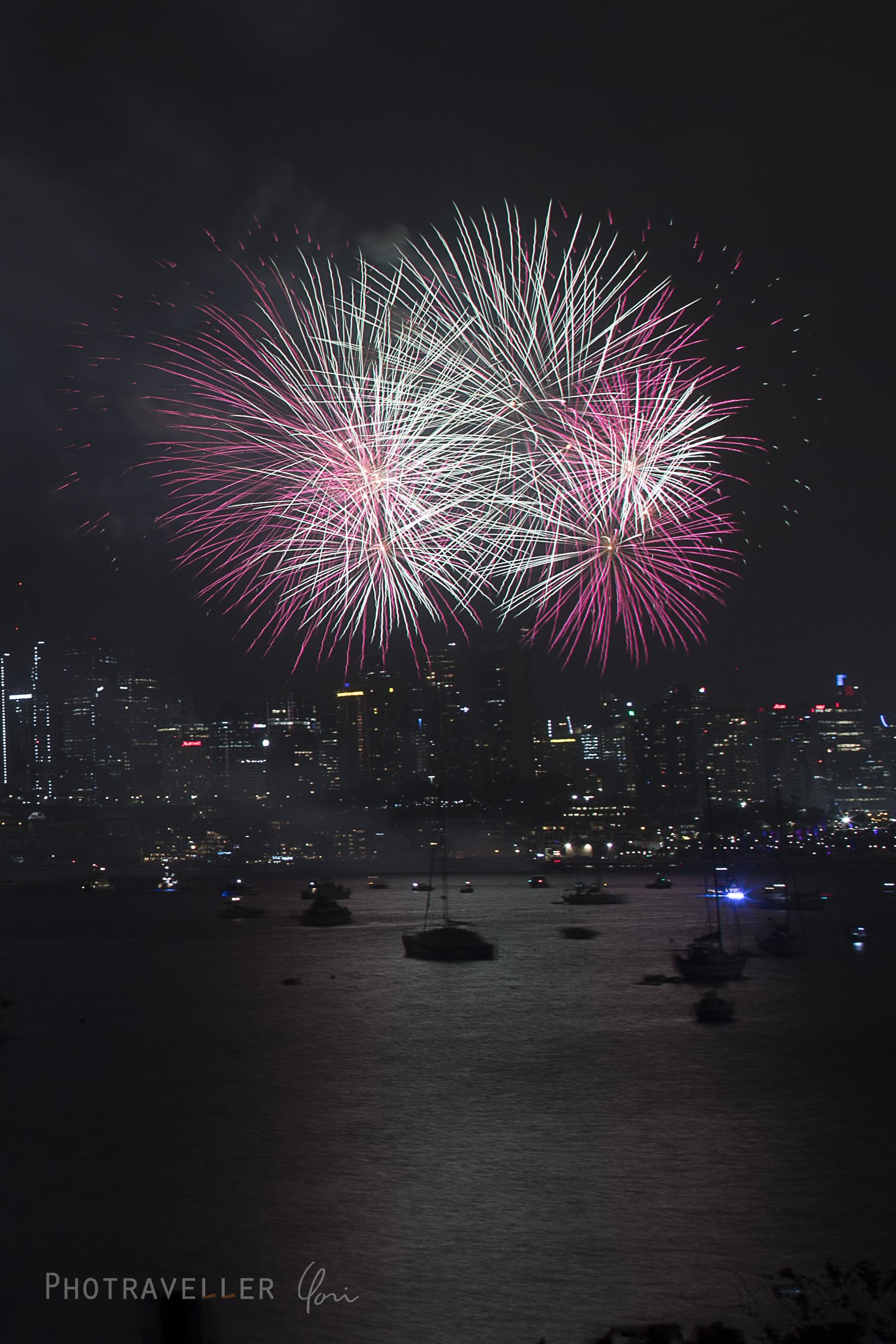 Sydney NEY 2020 シドニー カウントダウン花火