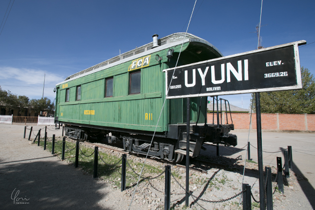 ボリビア ウユニ駅