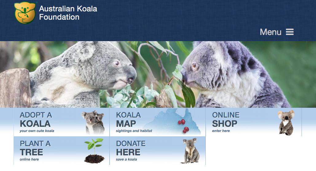 コアラのマーチ コアラ基金 ウェブサイト