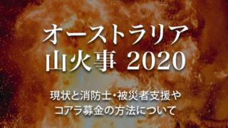 オーストラリア 山火事 2020