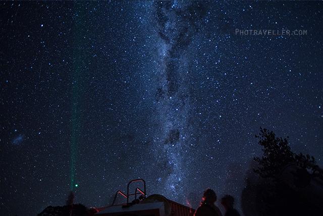 マッジー天文台ドーム流れ星レクチャー
