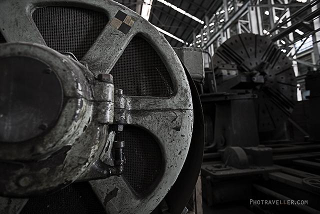 シドニー 世界遺産 コカトゥー島 重機