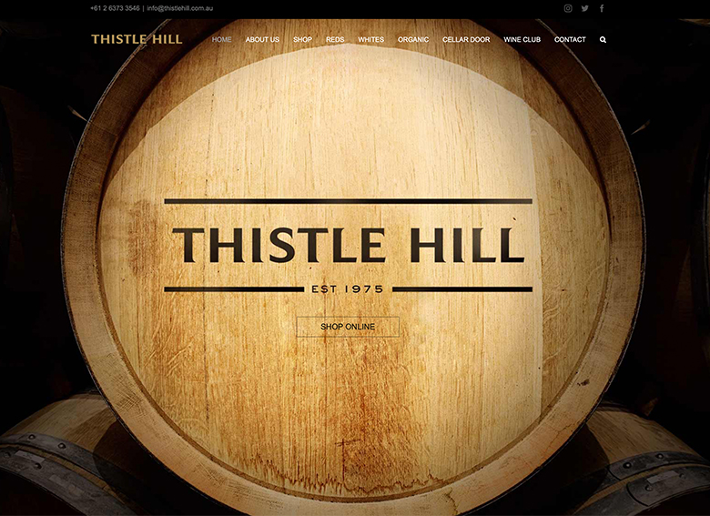 マッジー ワイナリー Thistle Hill