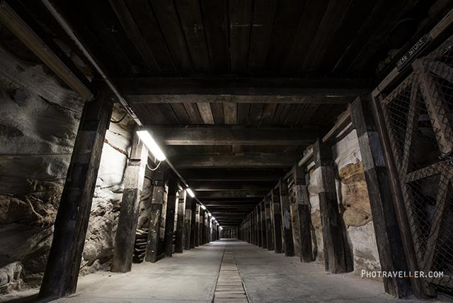 シドニー 世界遺産 コカトゥー島 トンネル2