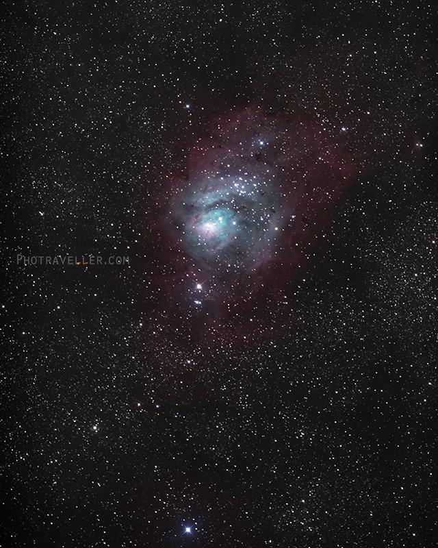 干潟星雲 M8 Lagoon Nebula