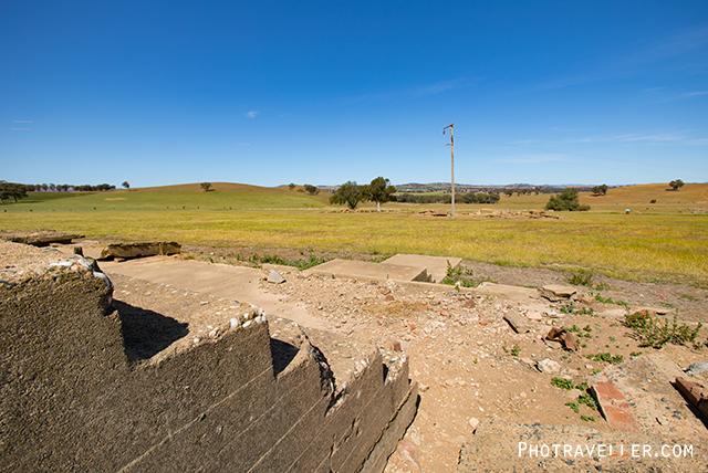 カウラ 捕虜収容所跡