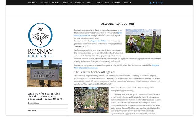 カウラ Rosnay Organic wine 公式サイト