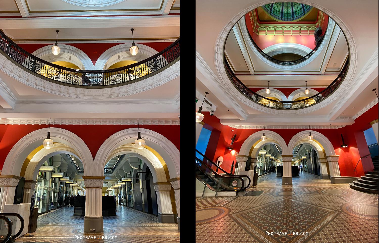 iPhone11 超広角 標準レンズ比較 作例 シドニー QVB copy