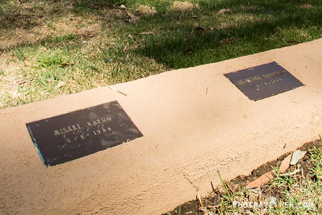 カウラ 日本人墓地 墓跡