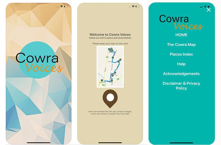 Cowra voices 無料アプリ