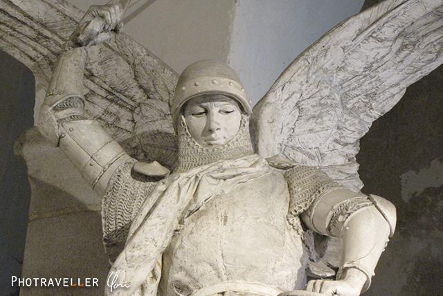 モンサンミッシェル 大天使ミカエル