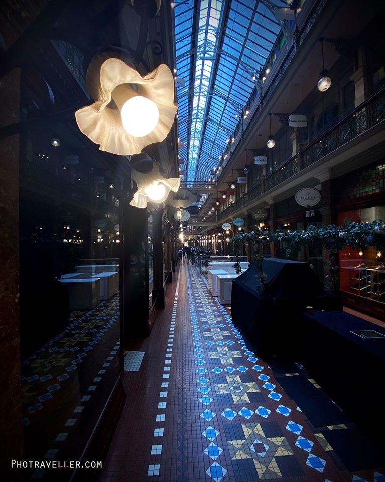 シドニー最古のアーケード The Strand Arcade