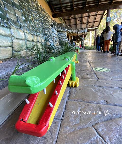 ワニベンチ オーストラリアン レピタイルパーク 爬虫類公園