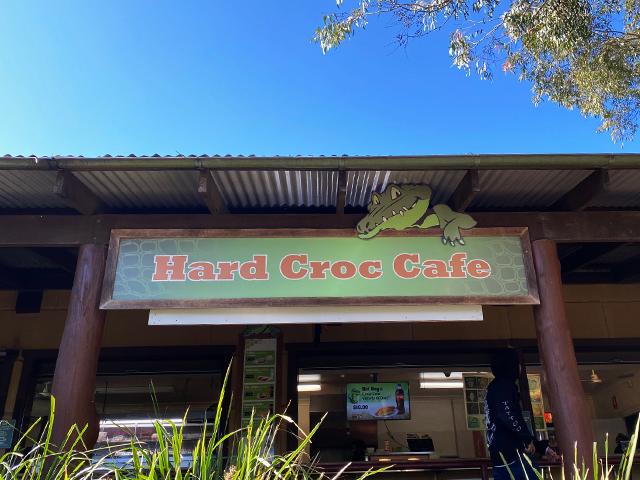 Hard Croc Cafe オーストラリアン レピタイルパーク 爬虫類公園