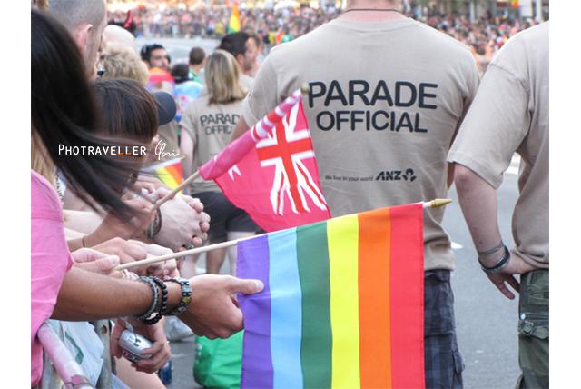 シドニー・ゲイ&レズビアン パレード Mardi Gras