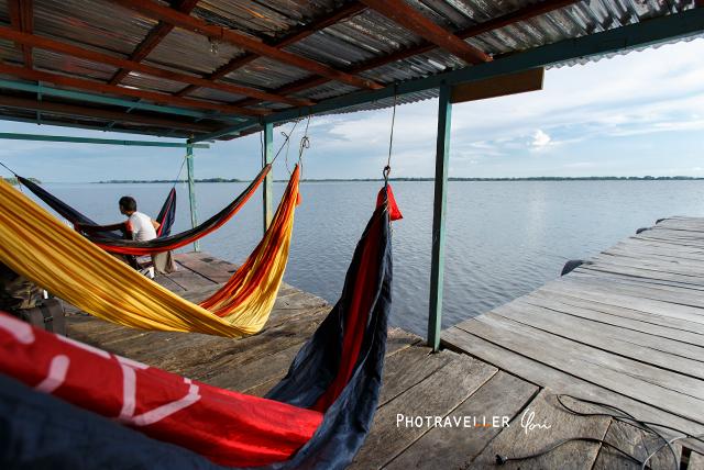 雷が世界一多いベネズエラ カタトゥンボ 水上ロッジ