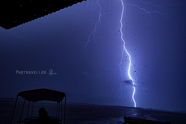 雷が世界一多いベネズエラ カタトゥンボ 雷と雨