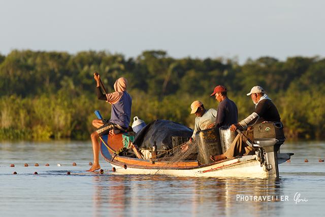 雷が世界一多いベネズエラ カタトゥンボの漁師たち2
