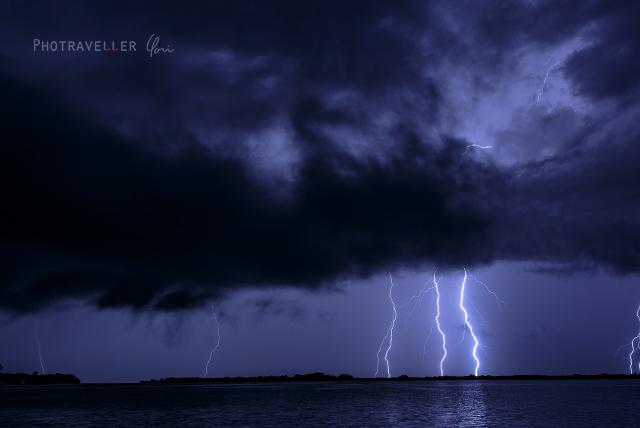 雷が世界一多いベネズエラ カタトゥンボ 6本の雷
