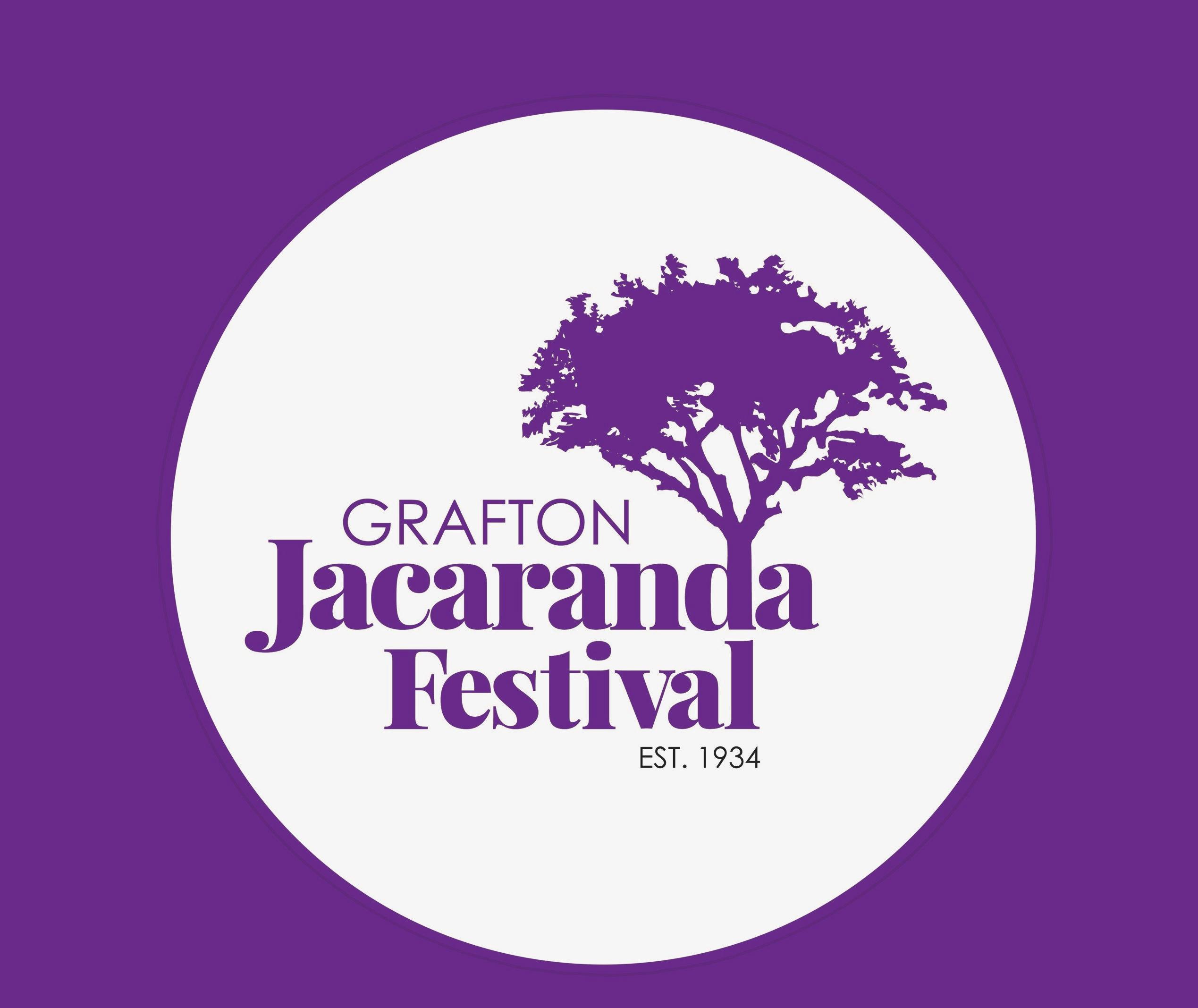 Jacaranda festival logo