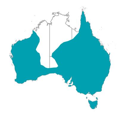ウェルカムスワロー 生息地 オーストラリアの野鳥