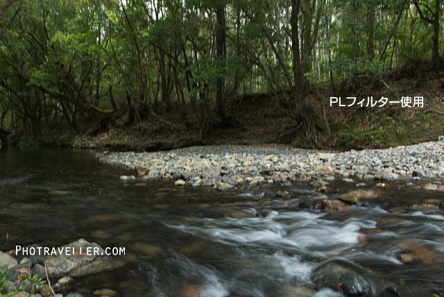 川の流れ CPL使用
