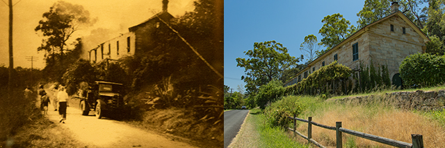 Hawkesbury Valley 1955 and 2021