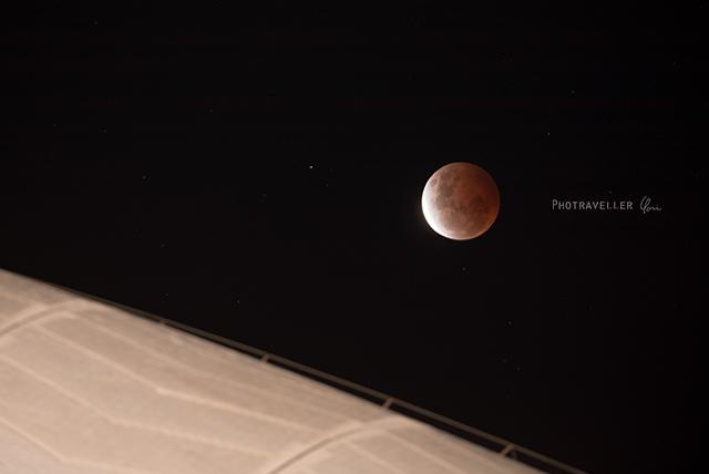 皆既月食とオペラハウス eclipse Sydney operahouse