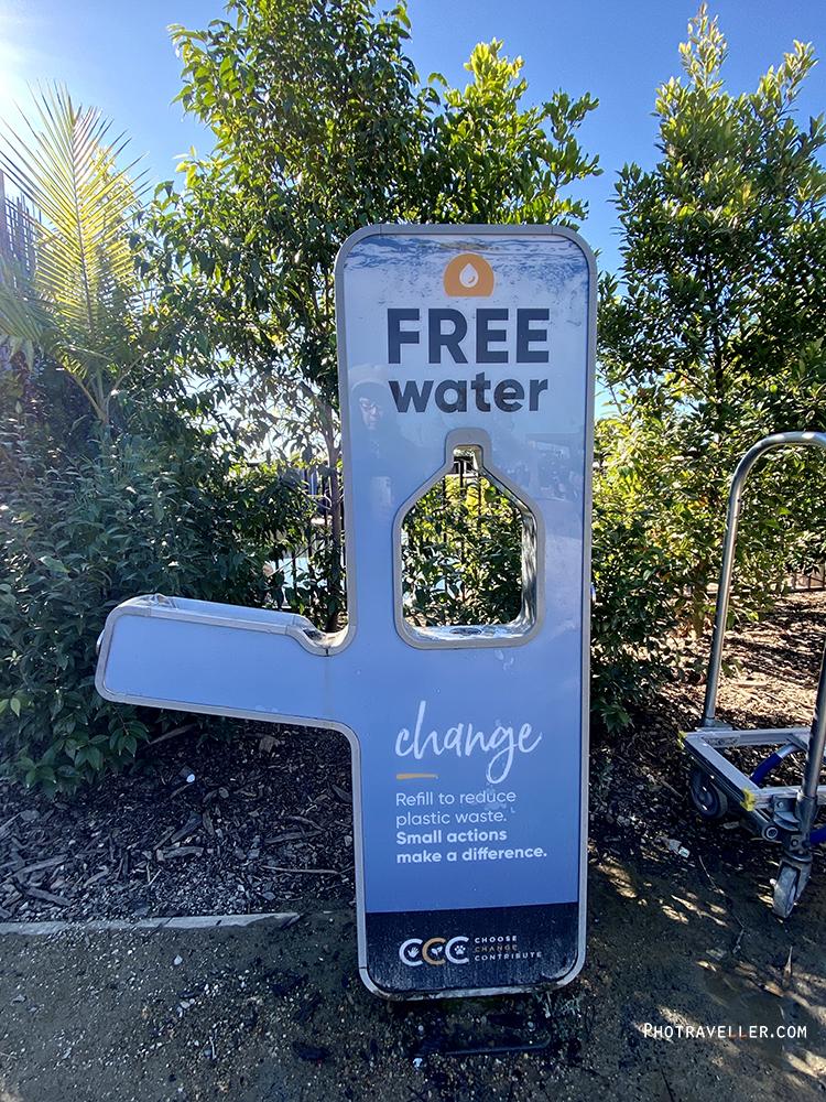 シドニー動物園 無料水補給
